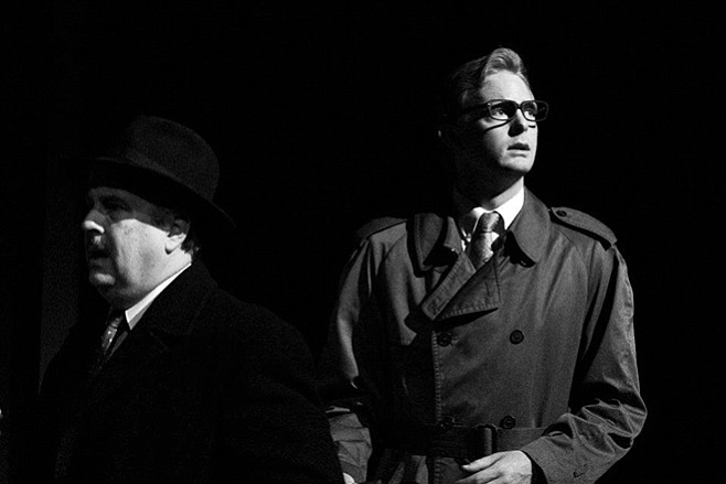 Brian Mackey as Hovstad in An Enemy of the People.