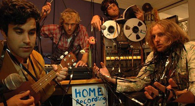 Guerilla Donkeys crashed South by Southwest, are currently touring the West, and will hit home Friday night at Soda Bar.
