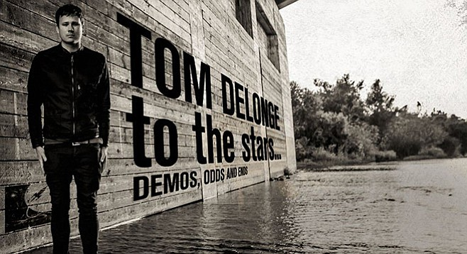 Former Blink 182 singer/guitarist Tom DeLonge will clean out his hard drive for his new odds and ends record, due to drop April 21.