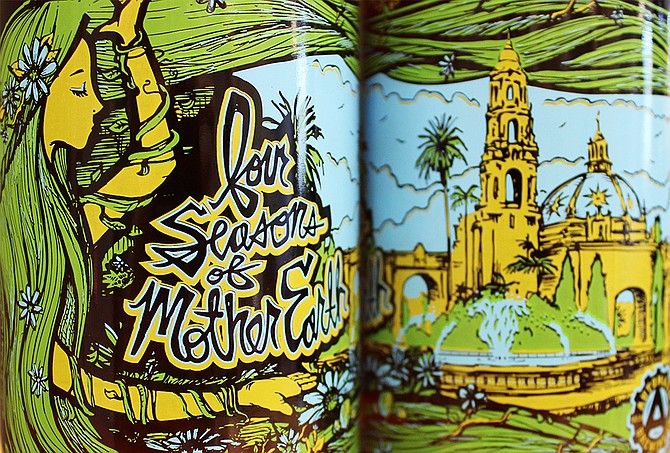Mother Earth Beer Co. and Automatic Brewing Co.'s Balboa Park Anniversary Ale (photo by @sdbeernews)