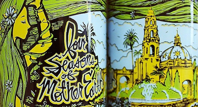 Mother Earth Beer Co. and Automatic Brewing Co.'s Balboa Park Anniversary Ale