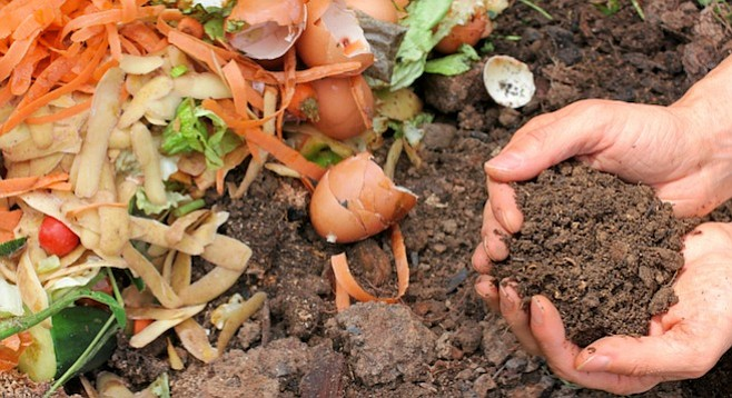 """People are interested in small, decentralized composting operations."""