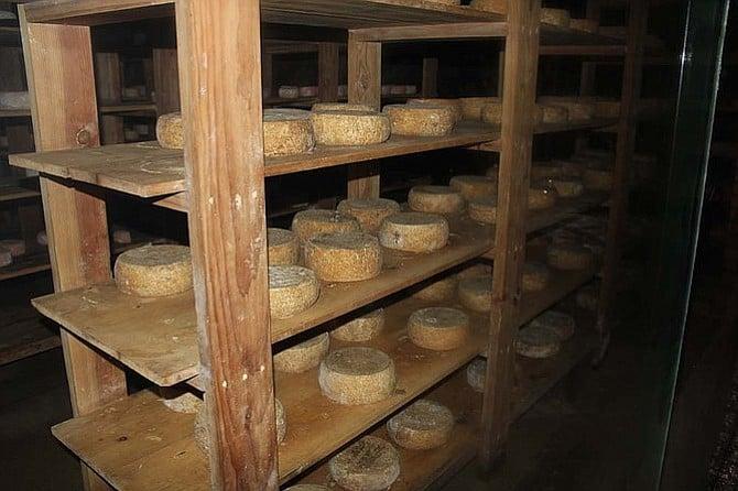 La Cava De Marcelo's cheese cellar.