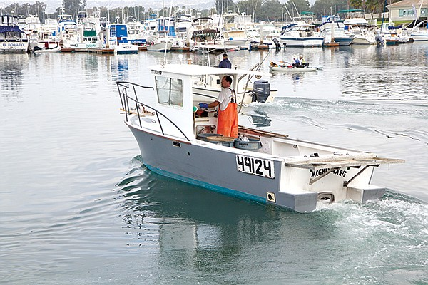Shad Catarius' lobster boat. Bought for $9000 on Craigslist but rebuilt for $80,000.