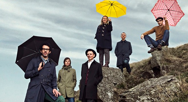 Belle and Sebastian to come down from the highlands to play Coachella.
