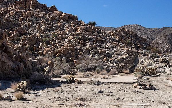 Indian Hill railroad camp site