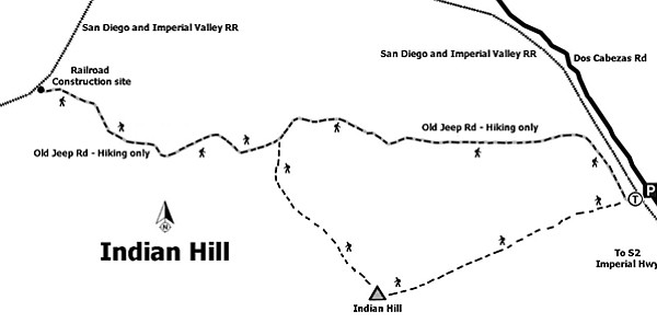 Map to Indian Hill