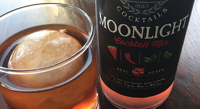 One of Crafted Cocktails' mixers