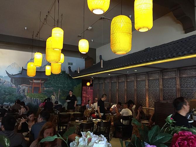 Interior of the new Dumpling Inn