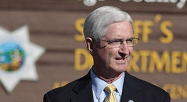 San Diego sheriff Bill Gore