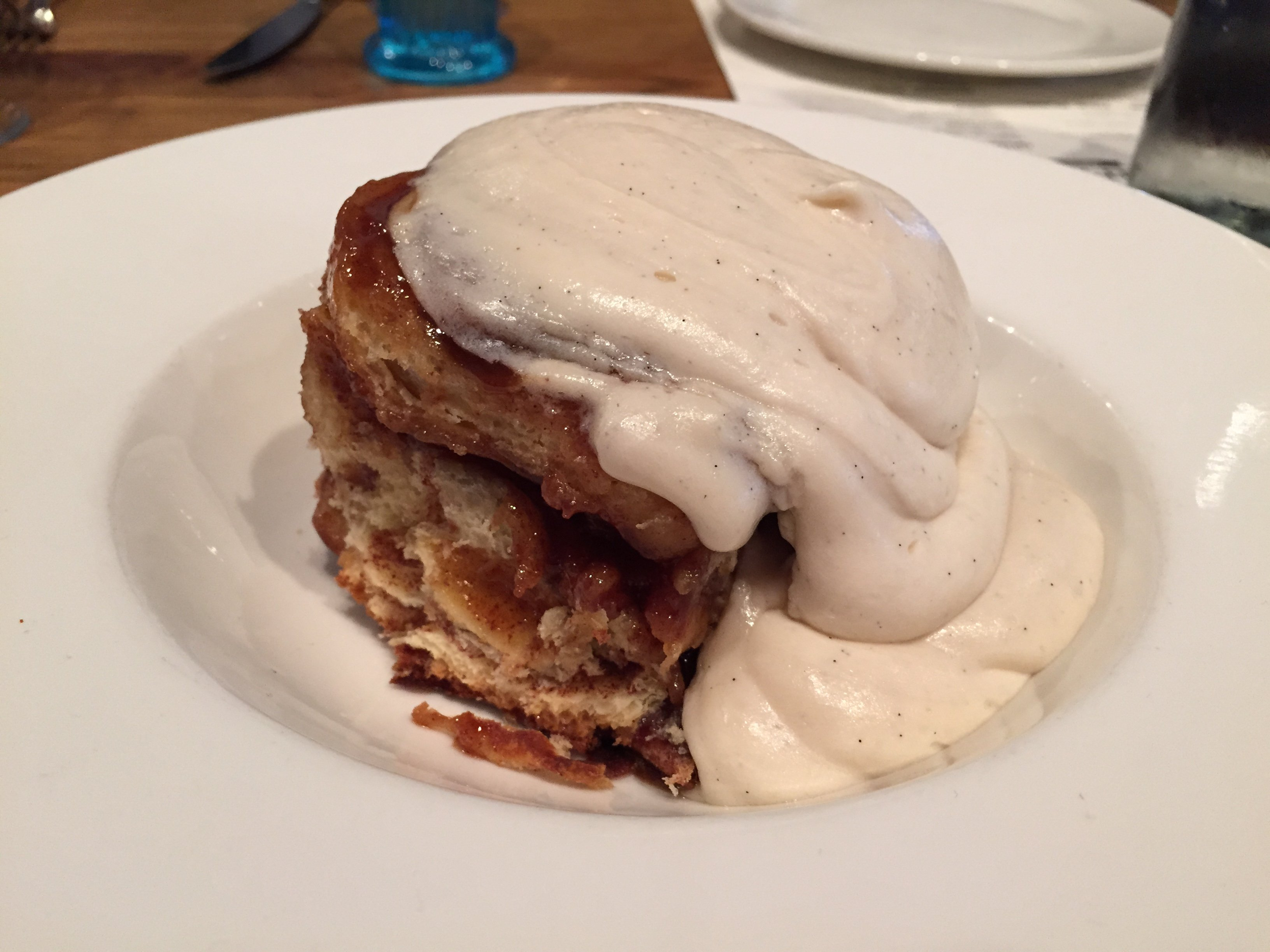 Sticky Bun — People were licking their fingers