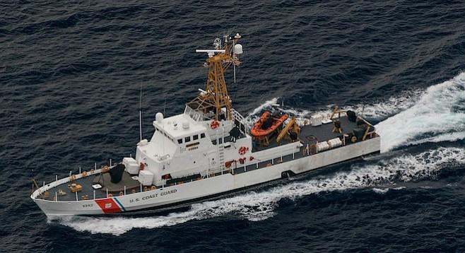 Coast Guard Cutter EDISTO operates from Southern California to Central America.