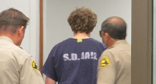 A judge ordered news media to not show the face of defendant Jack Doshay on April 9, 2015.