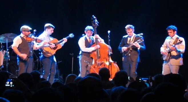 Roots-rock combo the Punch Brothers appeal to NPR and Pitchfork crowd...