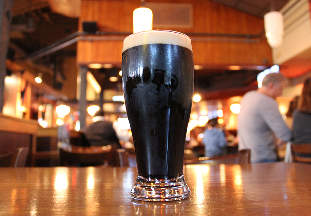 Rock Bottom La Jolla's Chai Porter (photo by @sdbeernews)