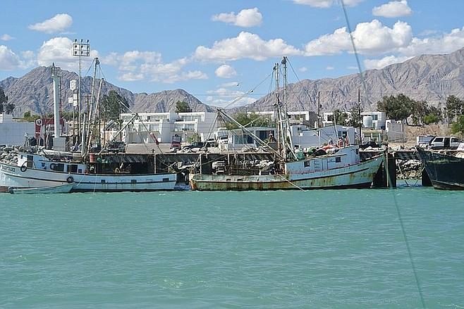 San Felipe marina.