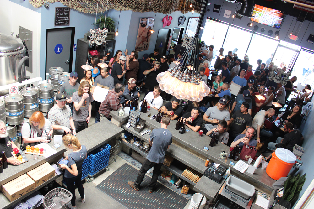 Toolbox Brewing Company in Vista (photo by @sdbeernews)