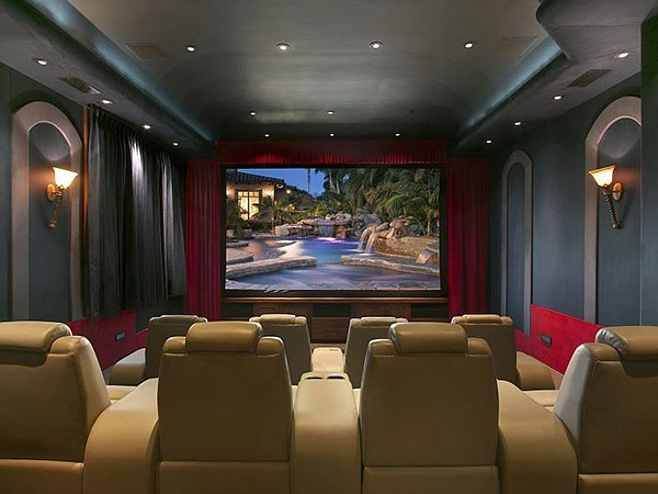 The theater alone is reportedly worth $120,000.