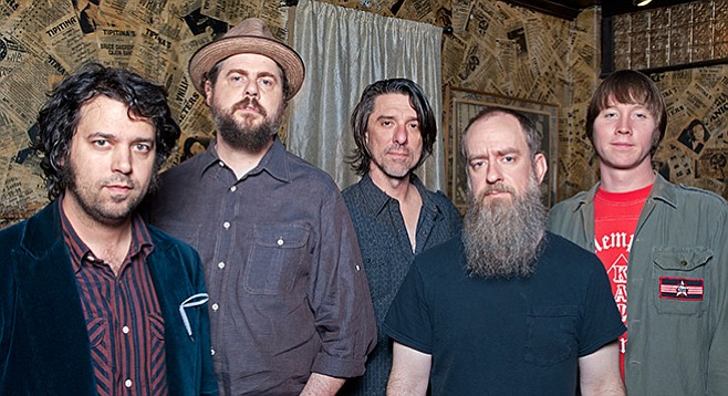"""Drive-By Truckers pull into Belly Up next Wednesday, April 22, for an all-acoustic show dubbed """"Dirt Underneath."""""""