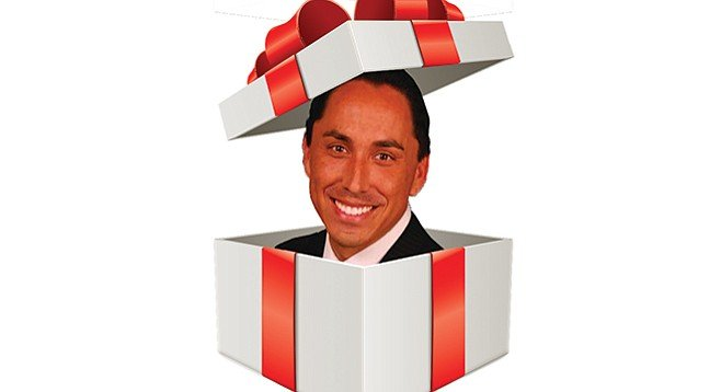 Todd Gloria, one of the city's most prolific gift receivers.