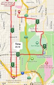Jog through Balboa Park.