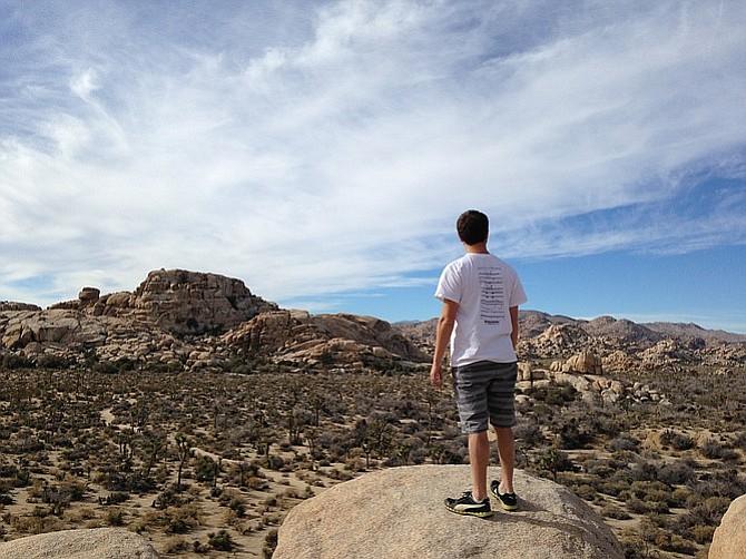 Barker Dam offers bouldering for all skill levels.