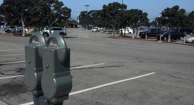Tuna Harbor parking lot