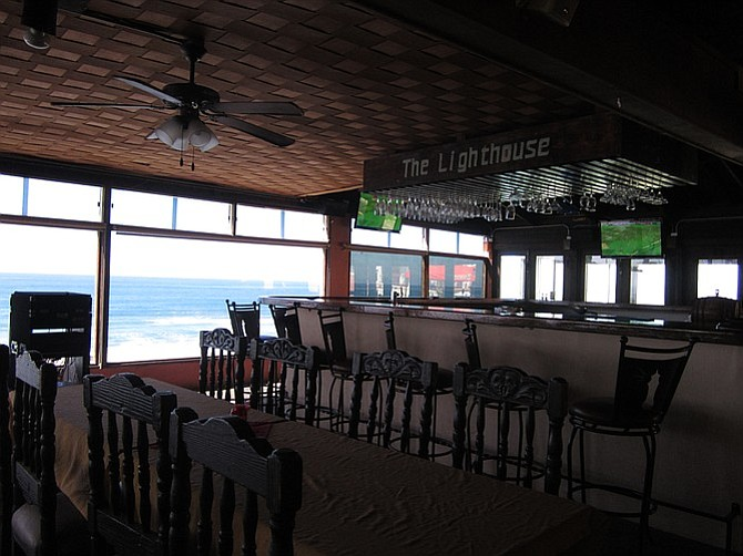 Bar at the Lighthouse.