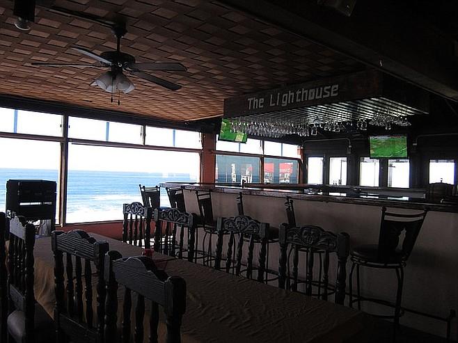 Bar at the Lighthouse.