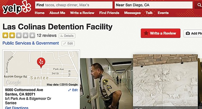 Las Colinas Detention Facility on Yelp