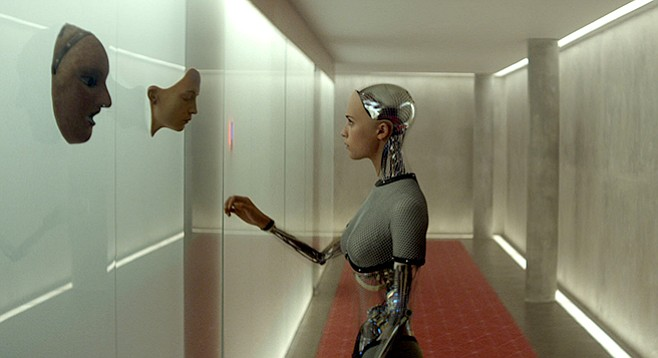 Relationships sure are complex in Ex Machina.