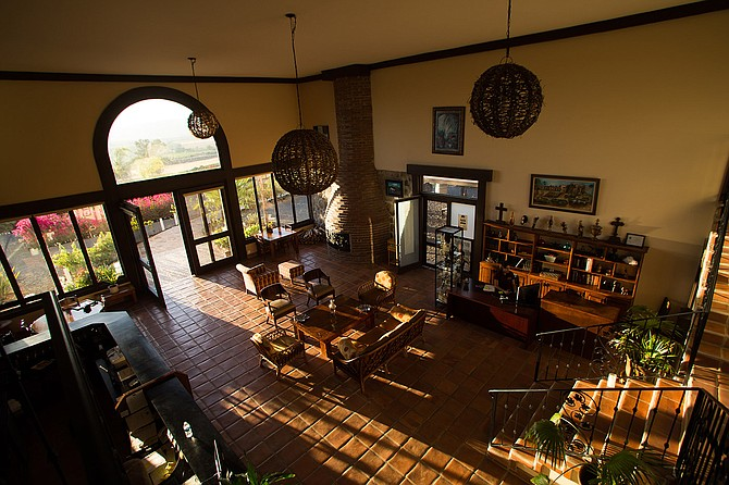 Interior of mission-style Hacienda Guadalupe. (photo: Hacienda Guadalupe)