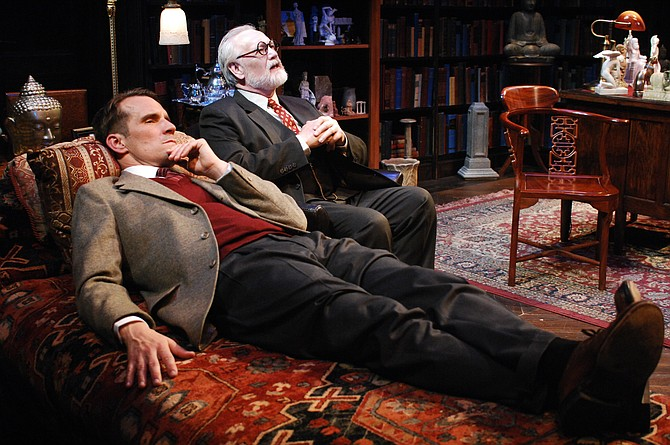 Freud's Last Session at Lamb's Players Theatre - Image by Nate Peirson