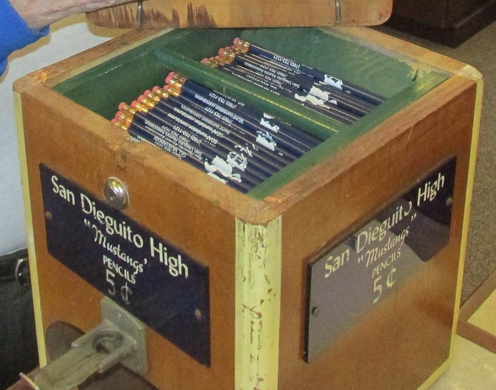 The pencil machine