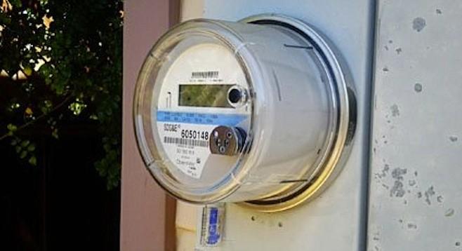 """SDG&E """"smart meter"""""""