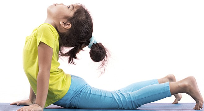 There are several kinds of yoga