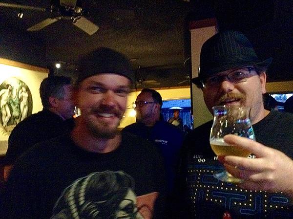 Steven from Manzanita, on the right