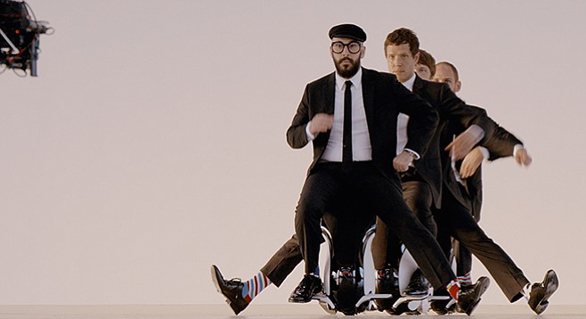 Indie-pop act OK Go is in it for the art of it — visual and musical. They play House of Blues on Friday, May 1.