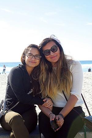 Esther De Jesus and Miriam Sanchez