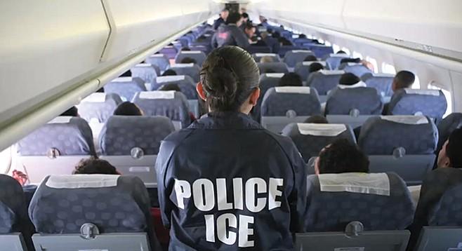Department of Homeland Security's inefficient flight scheduling turns deportees into jet-setters.