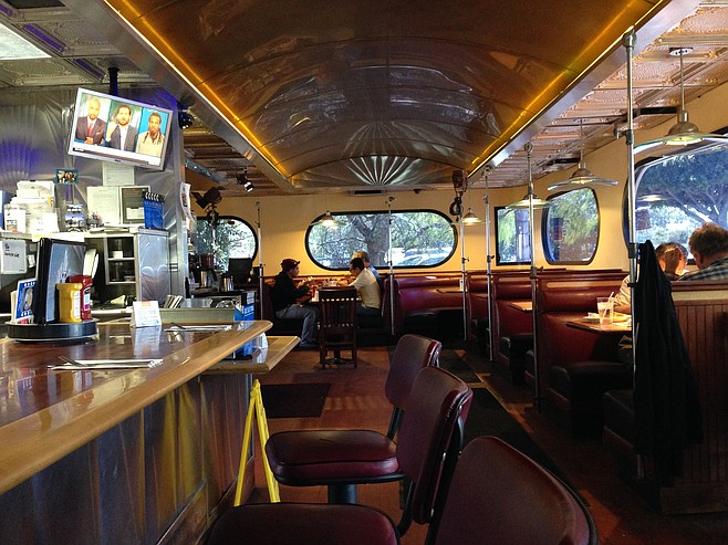 Studio Diner: Clean, hospitable, and not as kitschy as you'd think