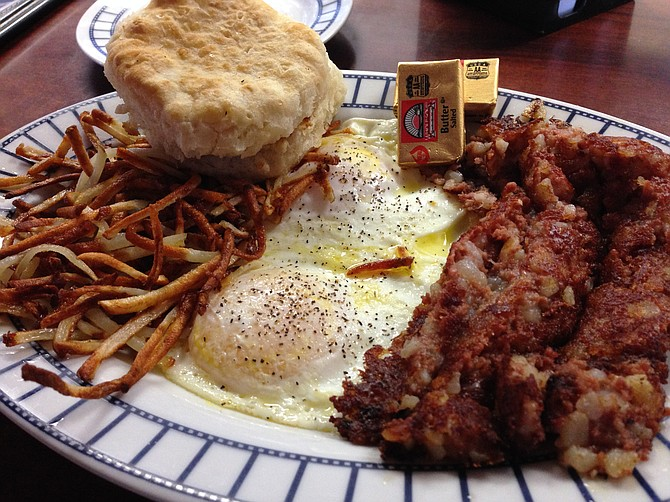 Solid, stay-inside-the-lines American breakfast