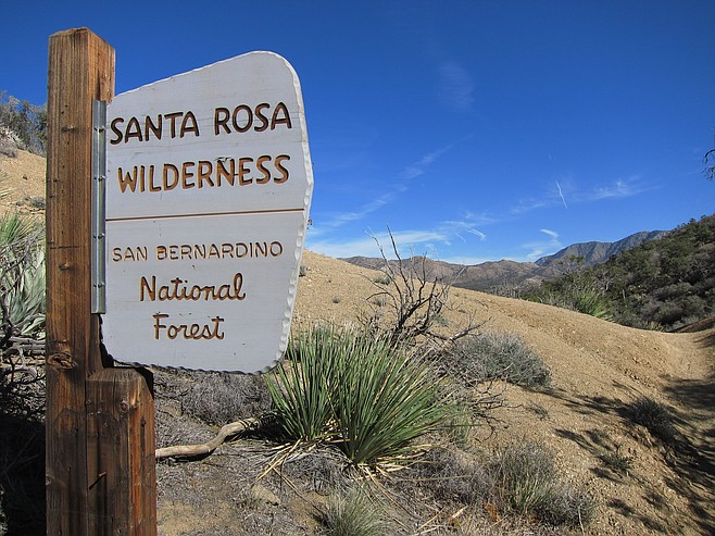 Welcome to the Santa Rosa Wilderness.