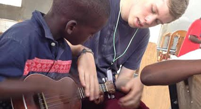Gabriel's Promise volunteers bring instruments and know-how to Haiti.