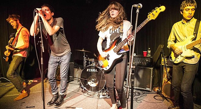 From Memphis, propulsive punk four-piece Ex-Cult takes the stage at Hideout on Tuesday!