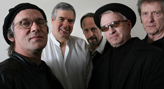 Garage-rock originals the Sonics blast into Belly Up Mother's Day night!