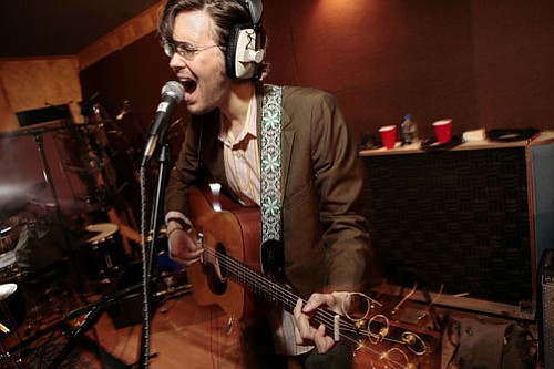 Indie folkie Elvis Perkins plays the Irenic Monday night.