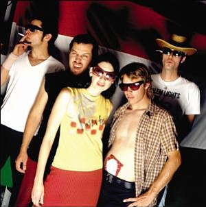 Local garage group Beehive & the Barracudas will get the Sonics show going at Belly Up on Sunday night!