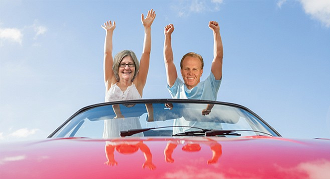 Lightner and Faulconer — already in the smartcar heading for elsewhere?