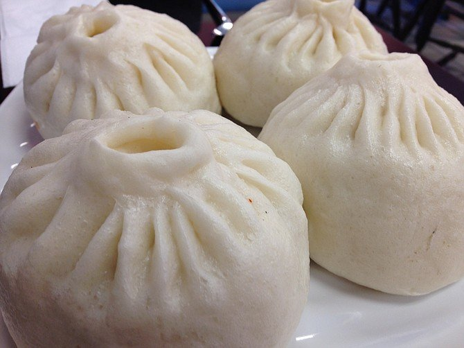 Uzbek Steamed Dumplings - Manti - GastroSenses |Huge Dumplings